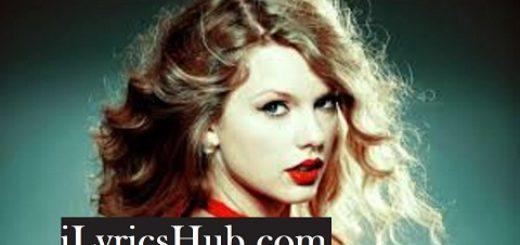 Clean Lyrics - Taylor Swift
