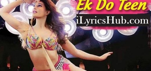 Ek Do Teen Lyrics Baaghi 2 | Jacqueline Fernandez