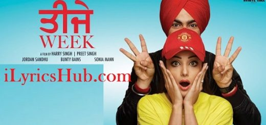 Teeje Week Lyrics Jordan Sandhu