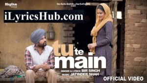Tu Te Main Lyrics (Full Video) - Bir Singh, Harish Verma