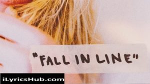 Fall In Line Lyrics - Christina Aguilera, Ft. Demi Lovato