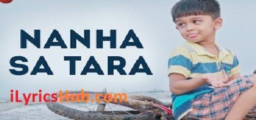 Nanha Sa Tara Lyrics - Varenyam Pandya