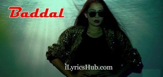 Baddal Lyrics - Jasmine Sandlas | Intense