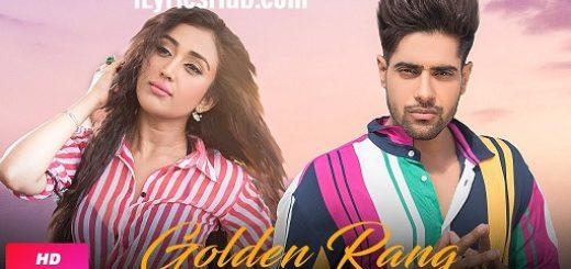 Golden Rang Lyrics Guri