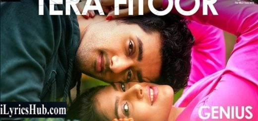 Tera Fitoor Lyrics - Genius | Arijit Singh