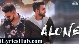 Alone Lyrics - Samy | Muzik Amy | Mac H Hardy