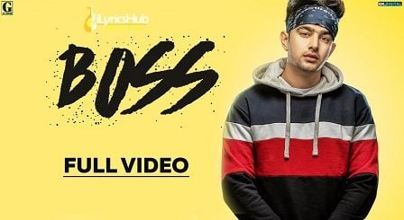 Boss Lyrics - Jass Manak | Game Changerz