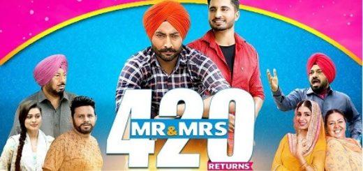 Mr & Mrs 420 Returns Title Sonag Lyrics - Jassie Gill