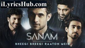 Bheegi Bheegi Raaton Mein Lyrics - Sanam