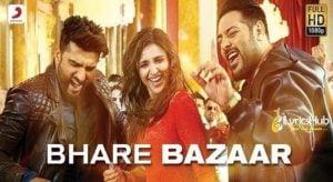 Bhare Bazaar Lyrics - Vishal Dadlani
