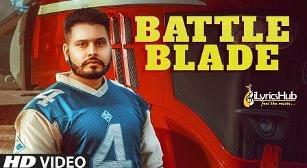 Battle Blade Lyrics - Lavi Jandali