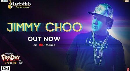 Jimmy Choo Lyrics - Fryday | Govinda, Fazilpuria, Natasa Stankovic