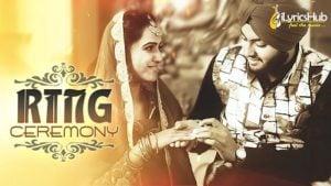 Ring Ceremony lyrics - Monty Singh, Vipul Kapoor