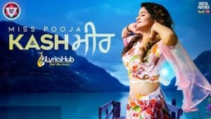 Kashmir Lyrics - Miss Pooja