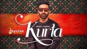 Kurta Lyrics - Preet Harpal, Jaymeet | Pargat Kotguru