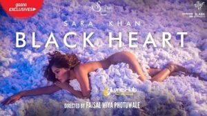 Black Heart Lyrics - Sara Khan