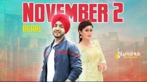 November 2 Lyrics - Akaal