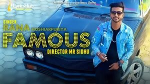 Famous Lyrics - Rana Hoshiarpuriya