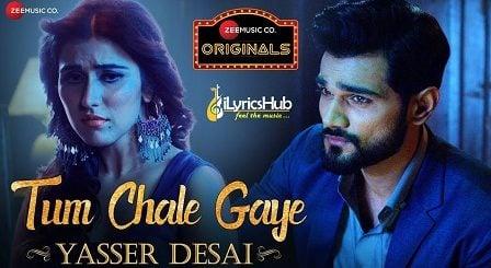 Tum Chale Gaye Lyrics - Yasser Desai