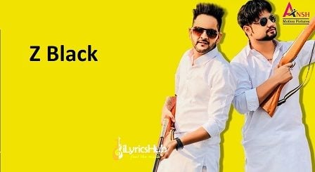 Z Black Lyrics - MD, KD | Ghanu