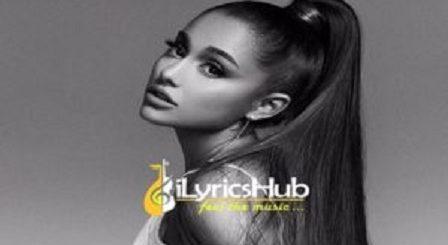 Imagine Lyrics - Ariana Grande