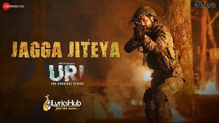 Jagga Jiteya Lyrics - Uri | Daler Mehndi