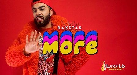 More Lyrics - Raxstar