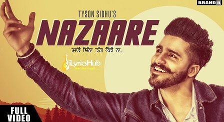 Nazaare Lyrics - Tyson Sidhu