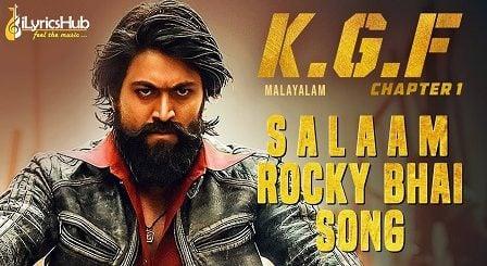 Salaam Rocky Bhai Lyrics - KGF   Yash