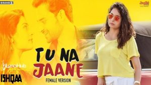 Tu Na Jaane Lyrics (Female Version)- Naman Hanjra