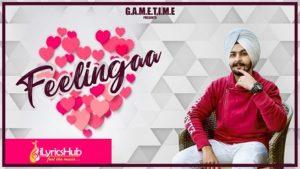Feelingaa Lyrics - Kay Vee Singh