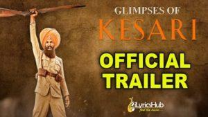 Kesari Official Trailer | Akshay Kumar, Parineeti Chopra