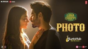 PHOTO LYRICS - LUKA CHUPPI | KARAN SEHMBI | iLyricsHub