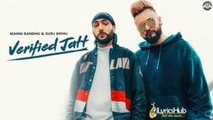 Verified Jatt Lyrics - Gurj Sidhu