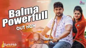 Balma Powerfull Lyrics - Gajender Phogat   Ajay Hooda