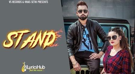Stand Lyrics - Yaad Bhullar, Gurlez Akhtar