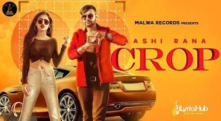 Crop Lyrics Aashi Rana