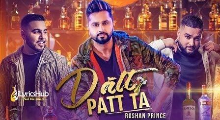 Datt Patt Ta Lyrics - Roshan Prince