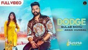 Dodge Lyrics Gurlez Akhtar, Gulab Sidhu