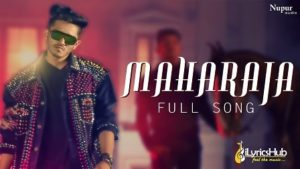 Maharaja Lyrics by Devender Ahlawat