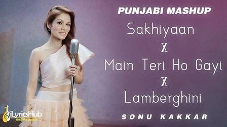 Punjabi Mashup Lyrics - Sonu Kakkar