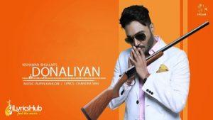 Donaliyan Lyrics by Nishawn Bhullar