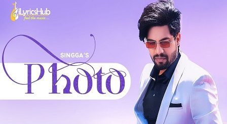 Photo Lyrics Singga