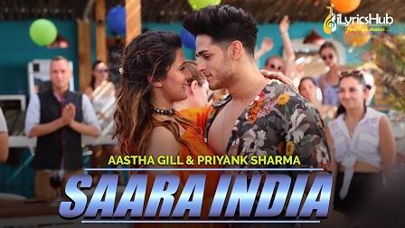 Saara India Lyrics by Aastha Gill
