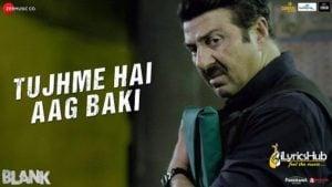 Tujhme Hai Aag Baki Lyrics Blank | Romy