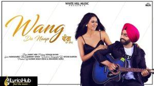 Wang Da Naap Lyrics Ammy Virk
