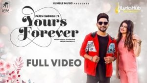 Yours Forever Lyrics Fateh Shergill