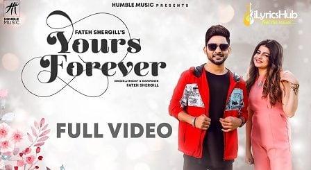 Yours Forever Lyrics Fateh Shergill