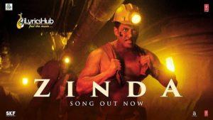Zinda Lyrics Bharat Vishal Dadlani