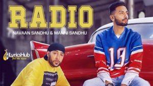 Radio Lyrics Navaan Sandhu